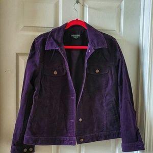 Ralph Lauren Corduroy Women's Jacket, Size 1X